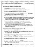 Texas Social Studies Weekly- Week 2 (Changes) ANSWER KEY