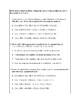Texas Staar Lesson 1-5.2A