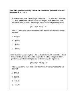 Texas Staar Lesson 1-5.4F