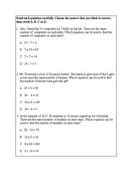 Texas Staar Lesson 2-3.4J