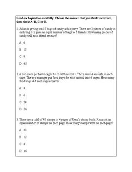 Texas Staar Lesson 2-3.4K