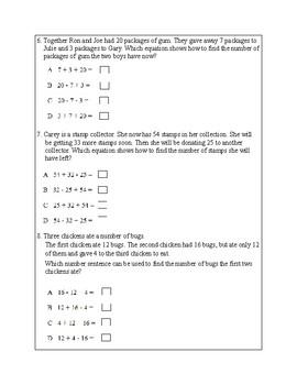 Texas Staar Lesson 2-3.5A