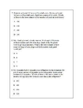 Texas Staar Lesson 2-5.3A