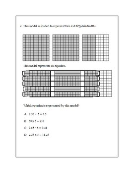 Texas Staar Lesson 2-5.3F
