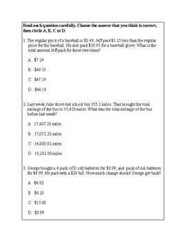 Texas Staar Lesson 2-5.3K