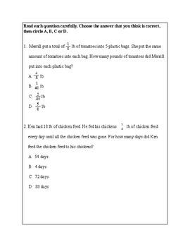 Texas Staar Lesson 2-5.3L