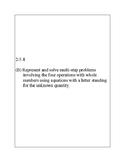 Texas Staar Lesson 2-5.4B