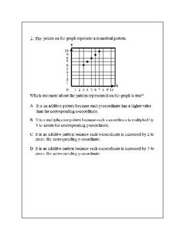 Texas Staar Lesson 2-5.4D
