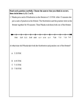Texas Staar Lesson 3-3.7C