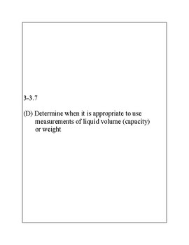 Texas Staar Lesson 3-3.7D