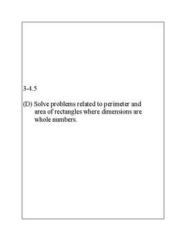 Texas Staar Lesson 3-4.5D