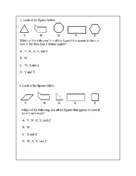 Texas Staar Lesson 3-4.6A