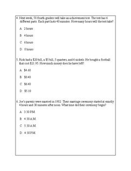 Texas Staar Lesson 3-4.8C
