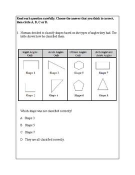 Texas Staar Lesson 3-5.5A