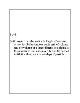 Texas Staar Lesson 3-5.6A