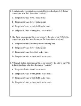 Texas Staar Lesson 3-5.8A
