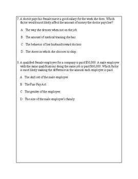 Texas Staar Lesson 4-3.9A