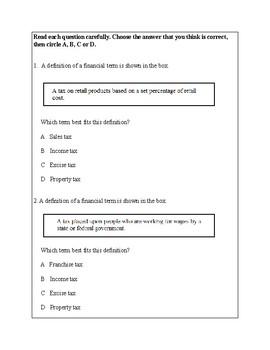 Texas Staar Lesson 4-5.10A