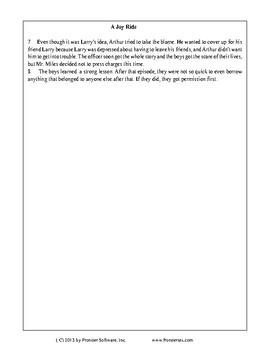 Texas Staar Reading - Please Blame Me