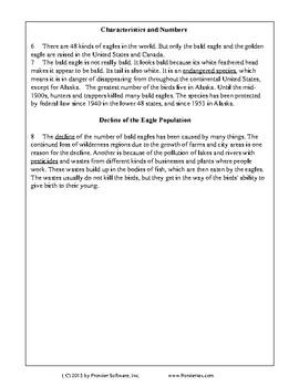 Texas Staar Reading - The Bald American