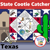 Texas State Facts and Symbols Cootie Catcher Fortune Teller