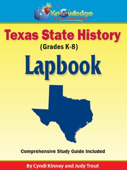 Texas State History Lapbook