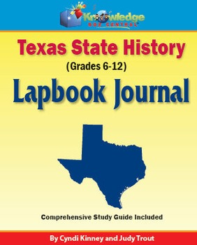 Texas State History Lapbook Journal