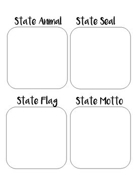 Texas State Lapbook