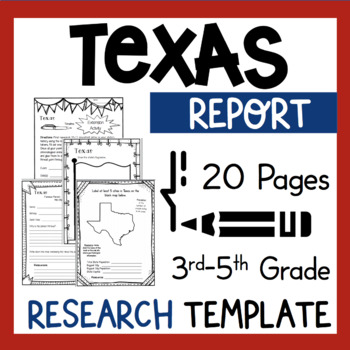 Texas State Research Report Project          TX