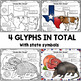Texas State Song (Texas, Our Texas) Listening Glyphs