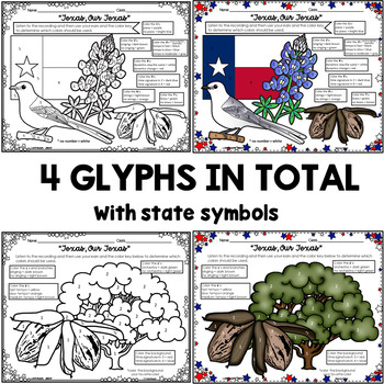 Listening Glyphs for Texas, Our Texas (State Song)