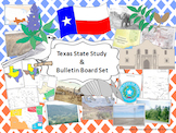 Texas State Study and Bulletin Board Set