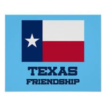Texas State Symbol Cards and Project - ENGLISH
