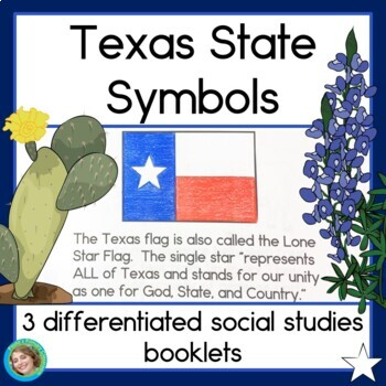 Texas State Symbols 3 Differentiated Guided Reading Books Tpt
