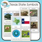 Texas State Symbol Cards