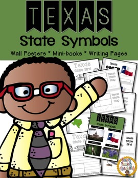 Texas State Symbols Notebook
