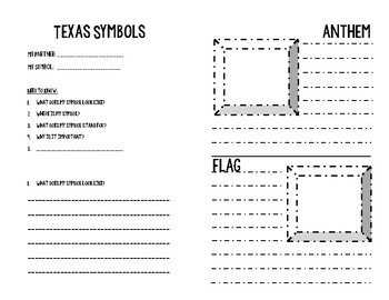 Texas State Symbols Student Resources - Adv. Level