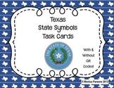 Texas State Symbols Task Cards
