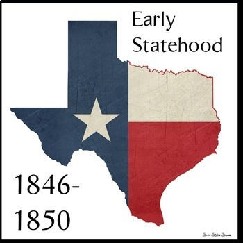 Texas Statehood Reading and Writing Activities