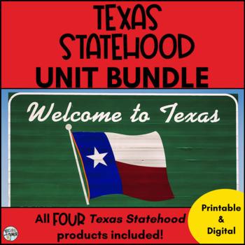 Texas Statehood ***BUNDLE***