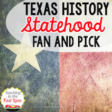 Texas' Statehood Fan And Pick