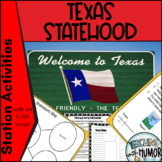 Texas Statehood LITERACY ACTIVITIES