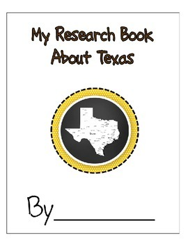 Texas Student Research Book