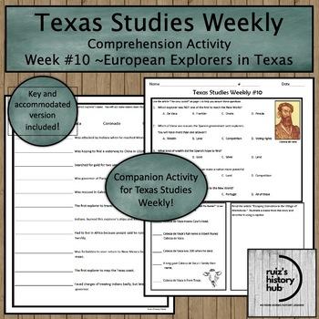 Texas Studies Weekly Newspaper #10 Bundle