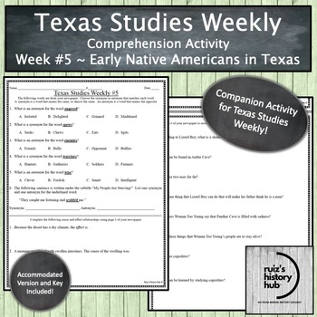 Texas Studies Weekly Newspaper #5