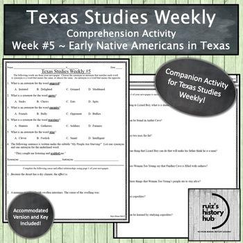 Texas Studies Weekly Newspaper #5