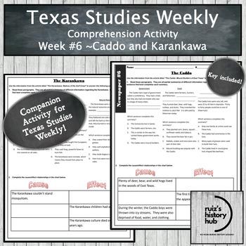 Texas Studies Weekly Newspaper #6 Bundle