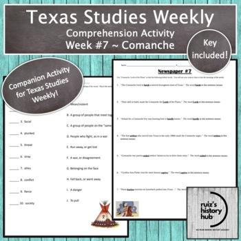 Texas Studies Weekly Newspaper #7 Bundle