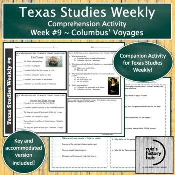 Texas Studies Weekly Newspaper #9 Bundle
