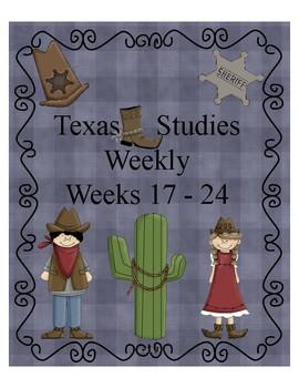 Texas Studies Weekly Weeks 17 - 24 Cloze Passages
